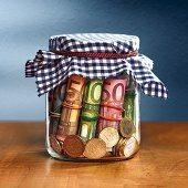 darovanie peňazí