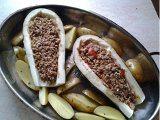baklažany a mäso