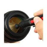 čistenie objektívu na fotoaparáte