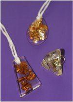 šperky zo živice