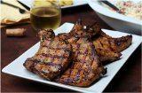 správne ugrilované mäsko