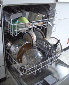 ako pokladať riad do umývačky riadu