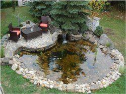 ako zazimovať záhradné jazierko