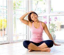 cvičenie na uvoľnenie krku