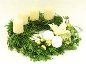 pekný vianočný veniec