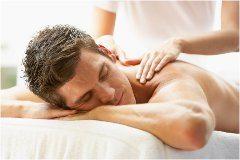 masáž na natiahnuté svaly