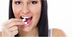 zápach z úst a žuvačky