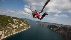 bungee jumping ako darček
