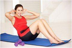 cvičenie brucha