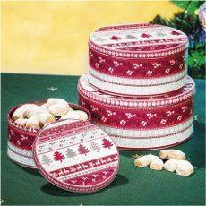 plechove dozy na vianočné pečivo