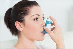 sprejový davkovač astma