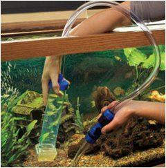 zvon na čistenie akvária
