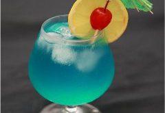ako pripraviť Blue Hawaiian