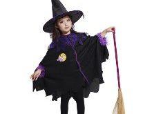 ako vyrobiť kostým čarodejníce