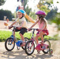 brzdy na detskom bicykli