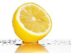 citrón a zapálené mandle