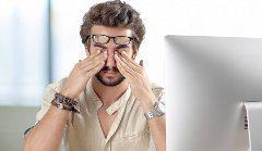 cvik na uvoľnenie a relaxáciu očí