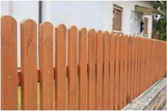 pekný drevený plot