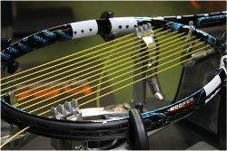profesionálny výplet tenisovej rakety