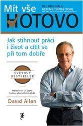 Kniha GTD od Davida Allena