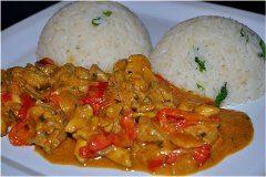 ako urobiť africké kurča