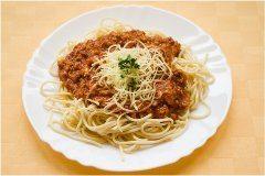 ako urobiť bolonské špagety