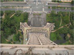 výhľad z Eiffelovej veže