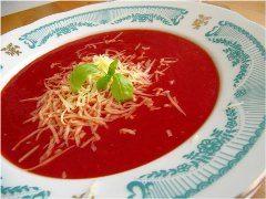 ako urobiť rajskú polievku