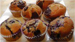 muffiny z troch druhov čokolády