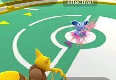 Pokémon GO bitka a telocvičňa