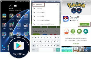 Pokémon go pre android na google play