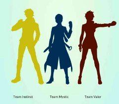 aký tím si zvoliť v Pokémon GO