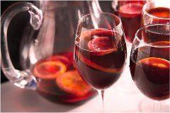 ako pripraviť nápoj Sangria netradične
