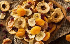 ako pripraviť sušené ovocie