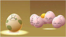 pokémon GO liahnutie Lucky eggs