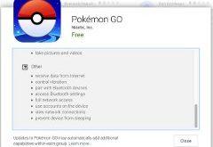 pokémon GO môžet čítať e-maily
