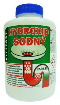 roztok hydroxidu sodného