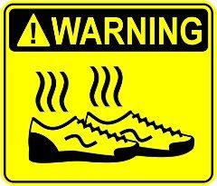 smrad z topánok