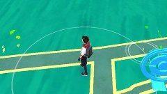 zelené lístočky na mape v Pokémon GO