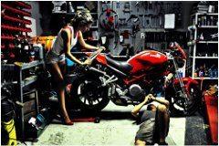 revízia motorky po zime