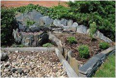 tvorba skalky v záhrade