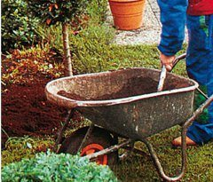 vapnenie záhrady