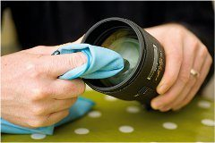 čistenie videokamery