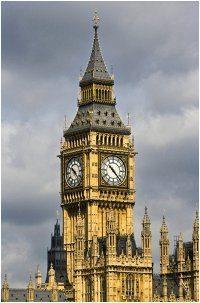 Big Ben vo Veľkej Británií