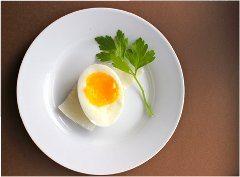 ako správne uvariť vajce