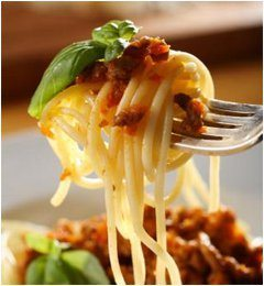 dokonale uvarené špagety