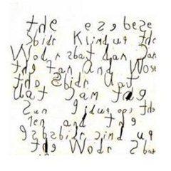 dysgrafia a škaredé písmo