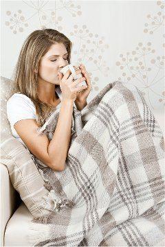 pitie čaju v období chrípok z paliny pravej