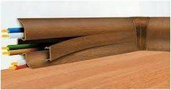 schovanie káblov do podlahových líšt