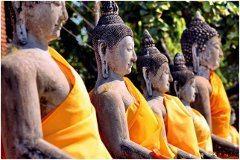 Budhistický festivál v Thajsku
